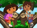 Memory-game-with-dora-the-explorer-and-her-cousin-diego