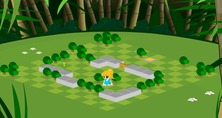 Maze-game-in-the-jungle-with-a-little-girl