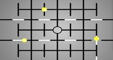 Maze-game-with-yellow-balls