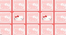 Memory-game-with-hello-kitty