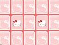 Memory-spel-met-hello-kitty
