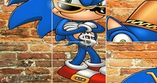 Puzzle-spill-med-sonic