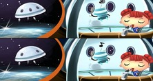 Jeu-de-difference-dans-l-espace-miki-of-the-space-police